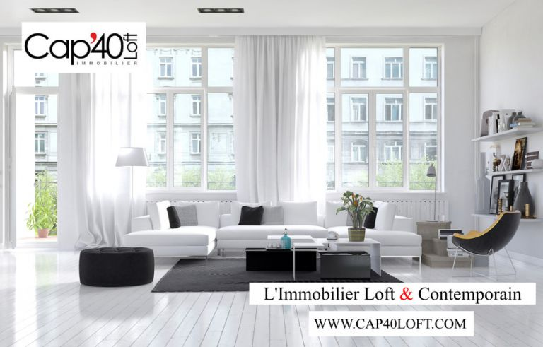 L'immobilier Loft & Contemporain